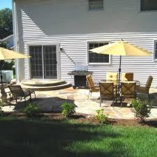 Backyard Tile Ideas Exterior Beautiful Backyard Landscaping With Backyard Patio Ideas