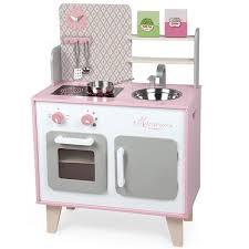 cuisine en bois pour fille grande cuisine en bois spicy avec et lumière janod bebe cadeau ch