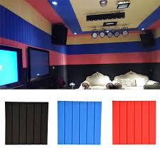 isolation chambre 1 pcs mousse d insonorisation acoustique panneaux foamtreatment