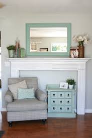 how to create a diy faux fireplace mantel using pieces from an old