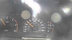 jackaroo trooper speed test 1997 3 1 t diesel manual youtube
