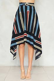 high waisted skirts you re stripe high waisted skirt shop clothes at gal