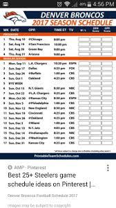 thanksgiving tv football schedule best 10 denver broncos schedule ideas on pinterest broncos game