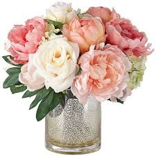 faux flower arrangements a silk flower centerpiece you can do yourself within
