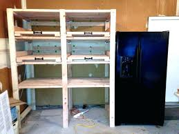 Costco Storage Cabinets Garage by Overhead Garage Storage Racks Diygarage Shelf Plans Shelving Ebay