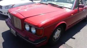 pink bentley interior 1989 bentley turbo r interior demo engine problem car youtube