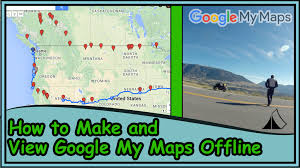 Google Maps App Multiple Destinations How To Create A Google My Map And View Offline With Google Earth