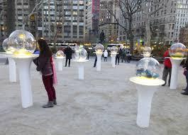 Gazing Globes Paula Hayes Gazing Globes In Madison Square Park The Worley Gig
