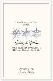 Winter Wedding Programs 11 Best Wedding Programs Images On Pinterest Catholic Wedding