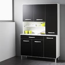 buffet de cuisine noir buffet de cuisine smarty 120cm noir