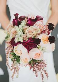 fall bridal bouquets burgundy and fall wedding bouquet ideas superior bridal