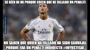 Cristiano Ronaldo Meme - cristiano ronaldo protagoniza los memes del empate del real madrid