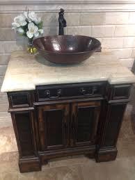 espeso thick copper oval bath vessel sink copper sinks online