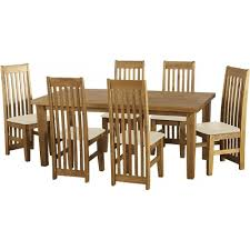mexican dining table set tortilla wood mexican pine 6ft dining table set with 6 brown padded