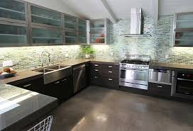 Paint Metal Kitchen Cabinets Contemporary Kitchen Cabinets Brown Plywood Laminated Full Area