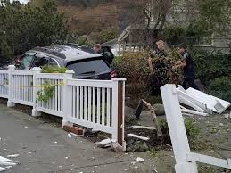 West Seattle Blog West Seattle Crime Watch Burglaries by Car Launches Into A Beach Drive Front Yard