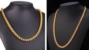 mens gold necklace chains images Simple latest gold chains designs for groom mens gold jpg