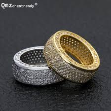 silver zirconia rings images Buy hip hop stainless steel cubic zirconia rings jpg