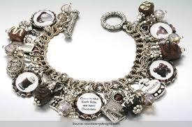 vintage silver bracelet charms images Vintage sterling silver charm bracelets we are currently obsessed with jpg