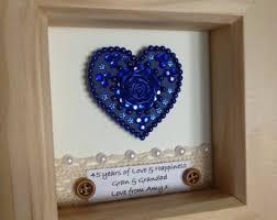 65th wedding anniversary gifts 45th wedding anniversary gifts lamoureph