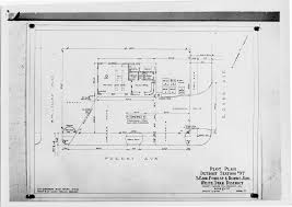 gas station floor plans plot plan for gas station in detroit located at forest and rohns