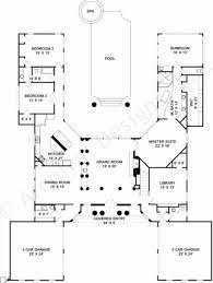 u shaped house plans with pool in middle uncategorized u shaped ranch house plans inside nice traditional