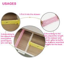 table cuisine escamotable tiroir tiroir diviseur organisateur de stockage de garde robe ajustable