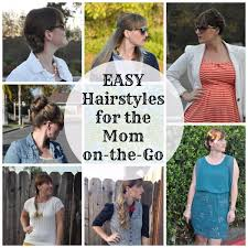 on the go hairstyles 6 easy hairstyles to do while running out the door