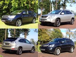 used lexus rx 400h suv 3 3 executive limited edition cvt 5dr in