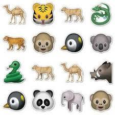 imagenes de animales whatsapp animal emojis 16 animal emoticon stickers by emoji stickers