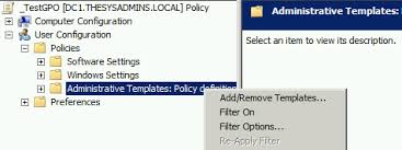 searching group policy the sysadmins