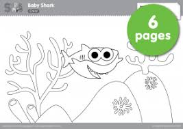 baby shark song free download baby shark coloring pages super simple