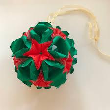 handmade christmas origami to purchase on etsy alice sushi art
