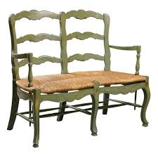 furniture classics 1260 country french ladderback settee 4 nice
