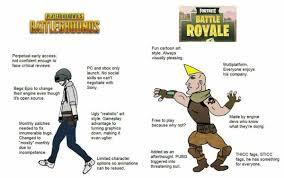 pubg vs fortnite muh battle royale playerunknown