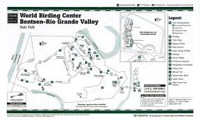 Texas State Park Map by World Birding Center Bentsen Rio Grande Valley State Park The