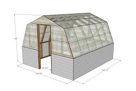 Barn Roof Styles by Ana White Barn Greenhouse Diy Projects