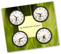 afficher l heure sur le bureau afficher l heure du monde entier sur le bureau de vista jenyburn
