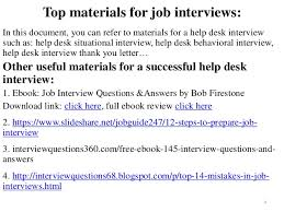 Help Desk For Dummies 80 Help Desk Interview Questions With Answers