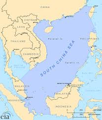 china on a map environmental and oceanographic maps the south china sea