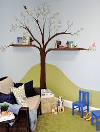 creative idea popular kids playroom designs with tree shaped