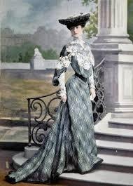 fashion history edwardian style of late 1890s 1914 bellatory