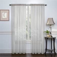 amazon com regal home collections crystal sheer voile rod pocket
