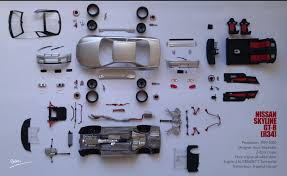 nissan skyline r34 engine tamiya nissan skyline gt r r34 1 24 build