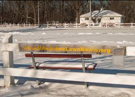 Patio Furniture Milwaukee Wi by Winter And Bowls In Milwaukee Wi Milwaukee Lake Park Lawn