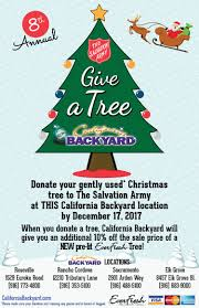california backyard u0027s give a tree program nov 05 2017