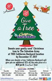 california backyard u0027s give a tree program nov 05 2017
