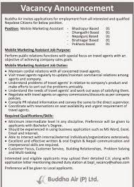 Travel Assistant Job Description February 2015 Jobs In Nepal