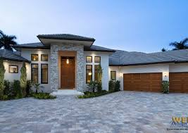 contemporary clean lines define the exterior façade of the