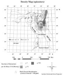Longitude Map Integrated Seismic Risk Map Of Egypt Seismological Research Letters